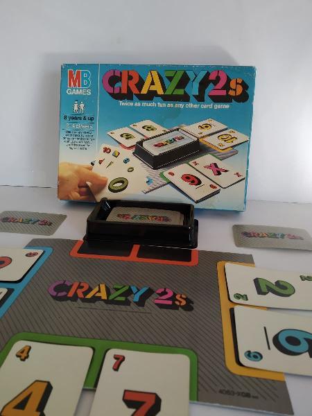 Crazy juego de mesa cartas divertido de 2/4 jugado