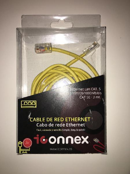 Cable de red ethernet de iconnex