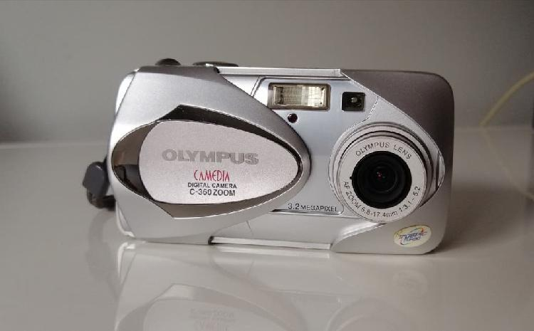 Cámara olympus digital c-360 zoom
