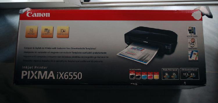 Impresora de inyección de tinta canon pixma ix6550