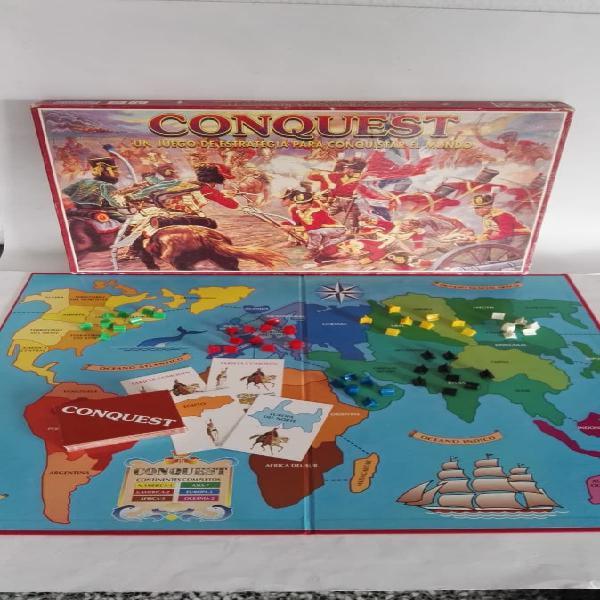 Juego de mesa conquest risk batalla mundial
