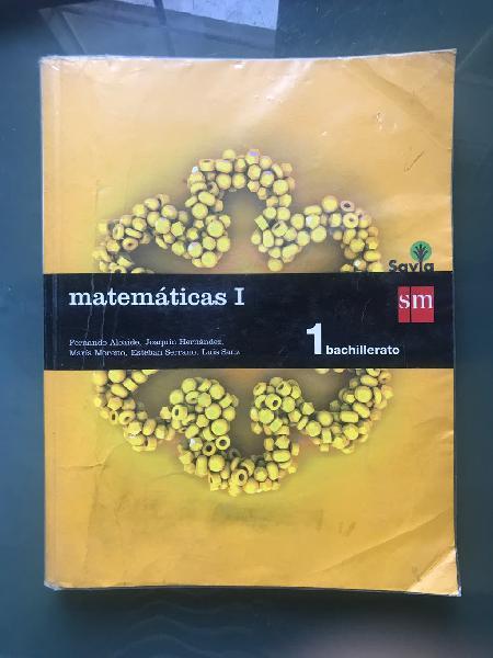 Libro de matemáticas 1 bachillerato sm