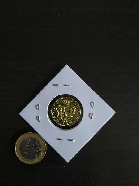 Moneda de alfonso xiii de 20 pstas de 1889 !!