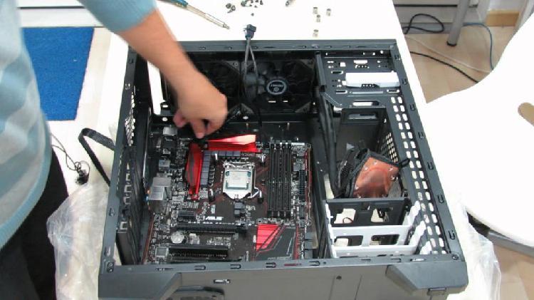 Montaje y/o reparación de pc gaming/ofimatica