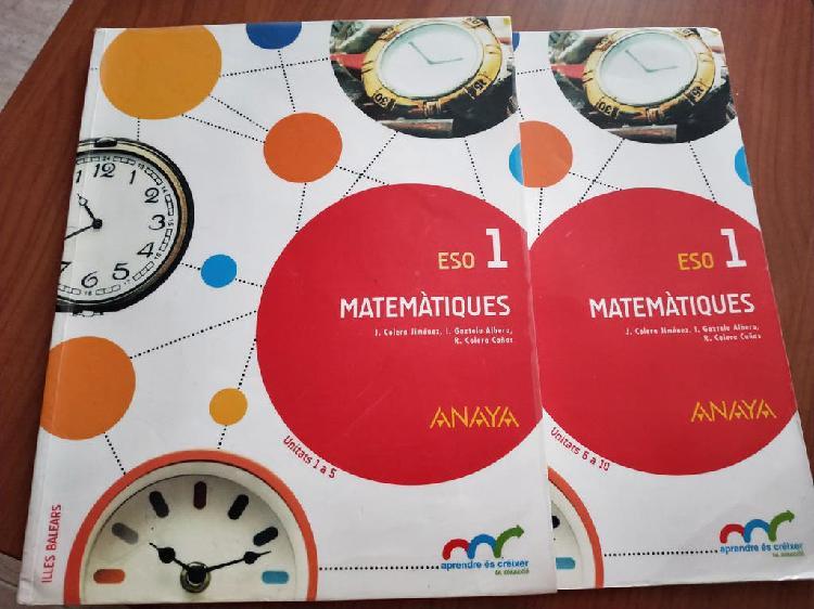 Matematiques 1eso