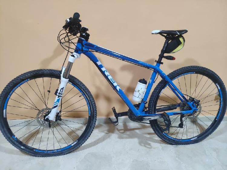 Mountain bike trek