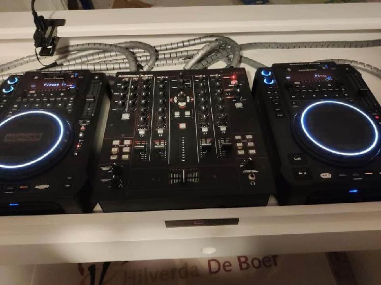 Nuevo:american audio radius 3000.djm 14 mxr