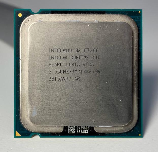 Procesador intel core duo 2.53ghz