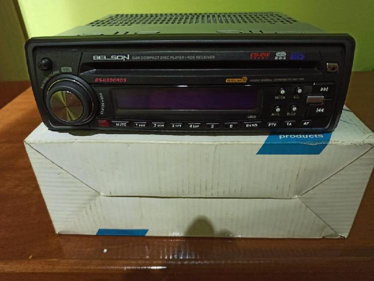 Radio cd belson con rds fm/am, nuevo.