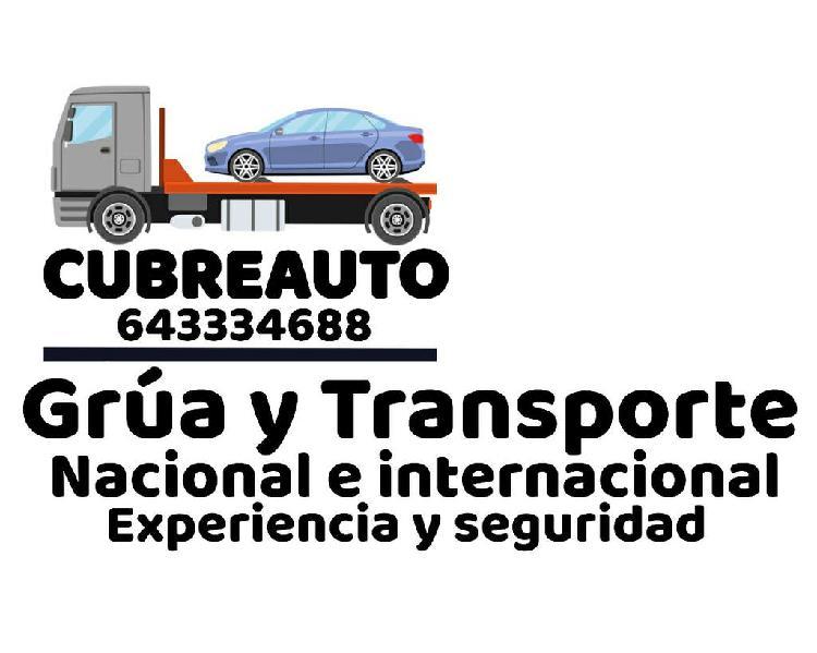 Transporte vehiculos nacional/internacional.