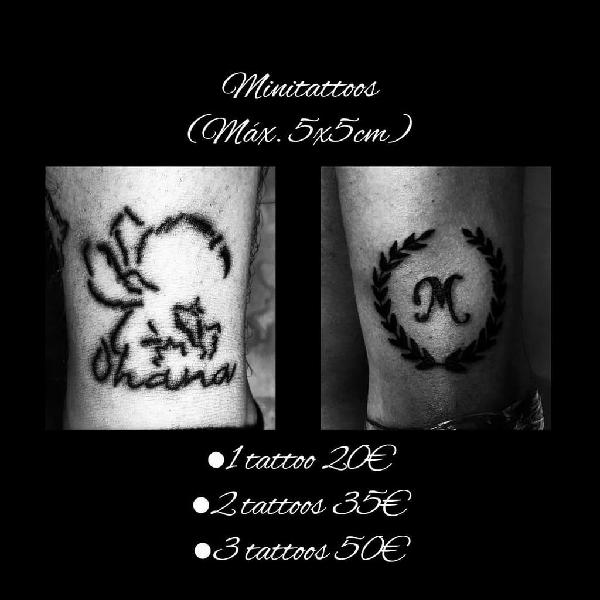 Tatuador a domicilio a buen precio y calidad