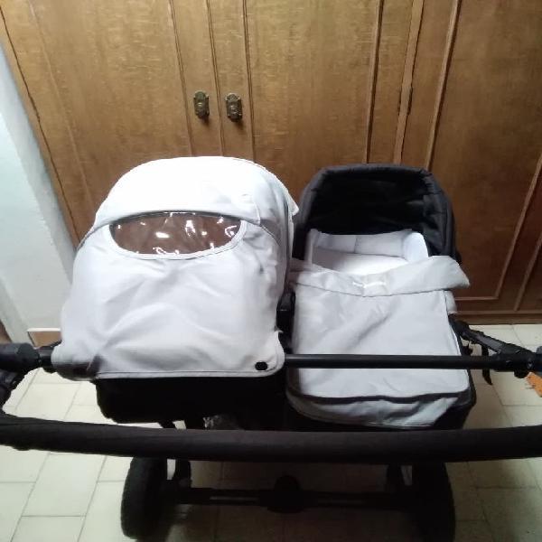 Carro gemelar easy twin baby monster