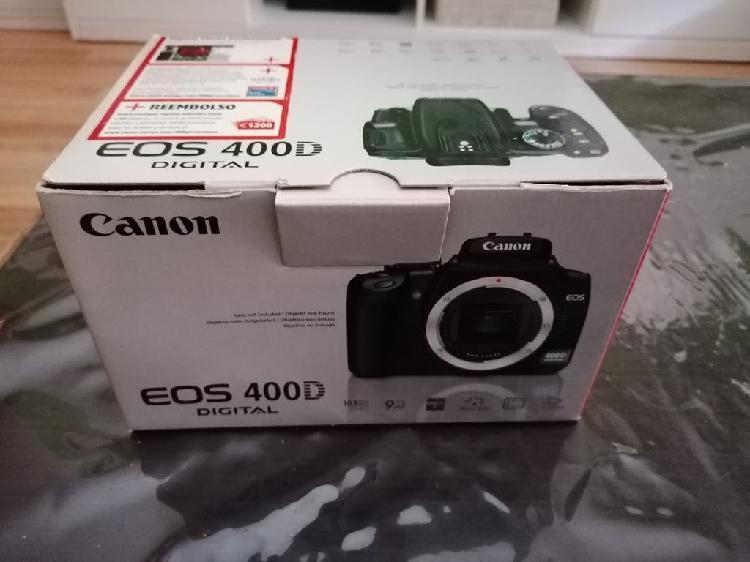 Cámara fotos canon eos 400d
