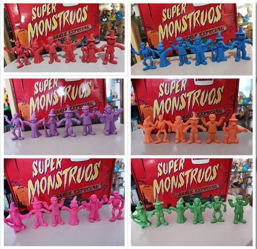 Elije color coleccion monstruos clasicos de goma