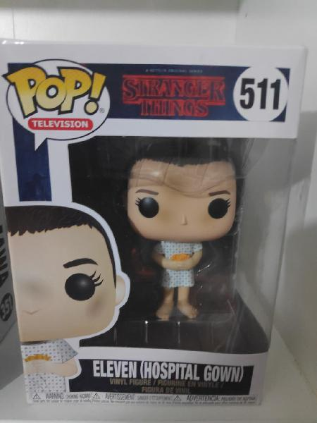 Funko pop eleven traje de hospital stranger things