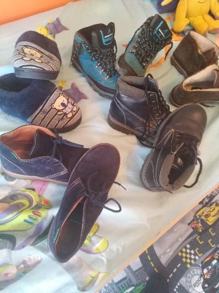Lote botas niño