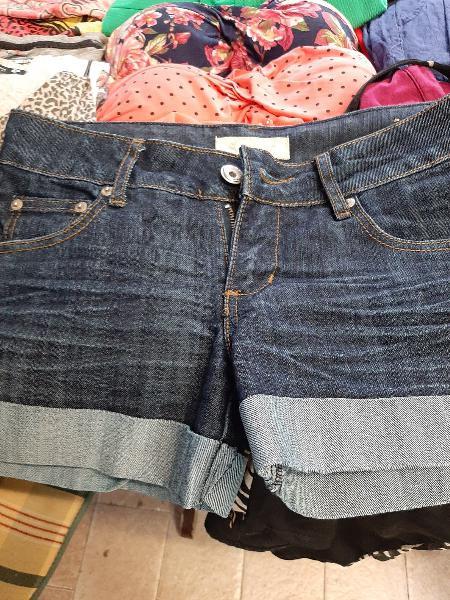 Pantalon chica corto vaquero