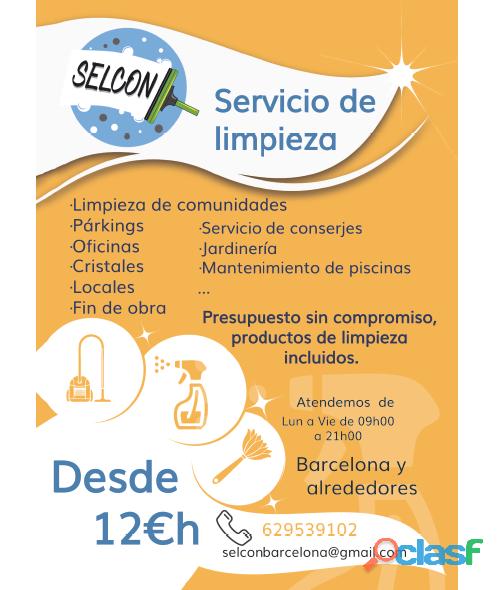 Servicio de limpieza y conserjería 1