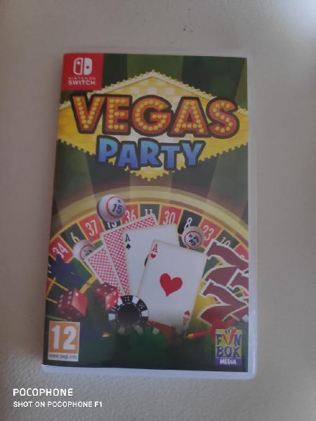 Vegas party para nintendo switch sin abrir