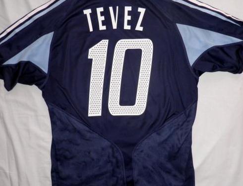 Camiseta argentina carlos tévez