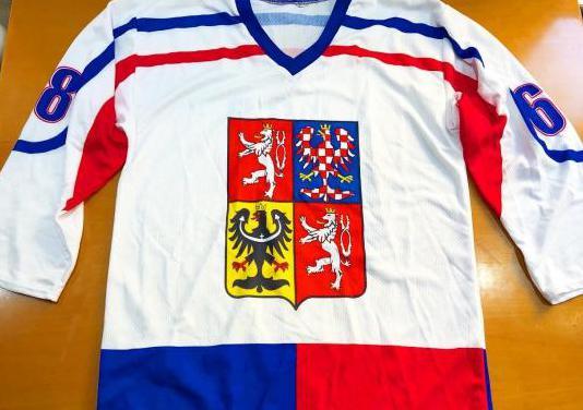 Camiseta hockey republica checa jagr talla s