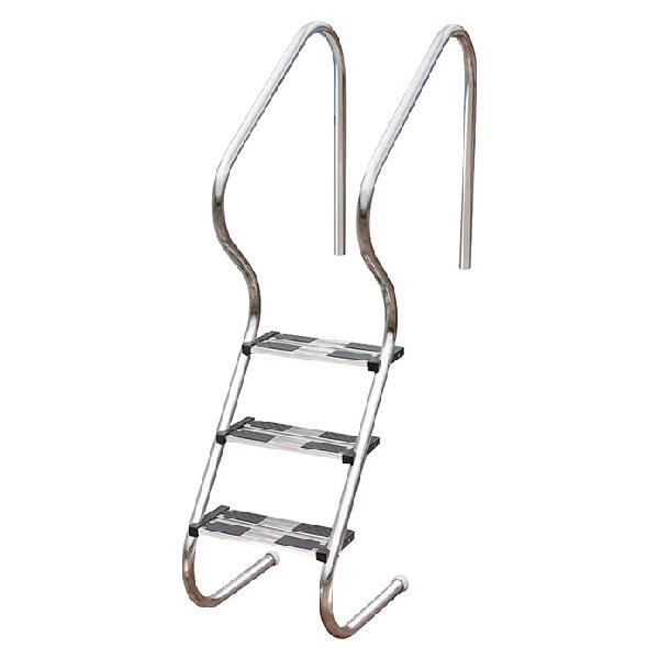 Gre escalera de tubo de acero fácil acceso