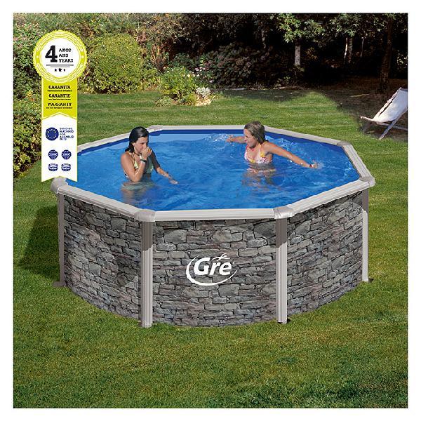 Gre piscina circular desmontable cerdeña