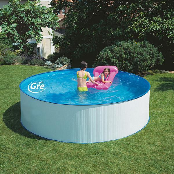Gre piscina circular desmontable lanzarote