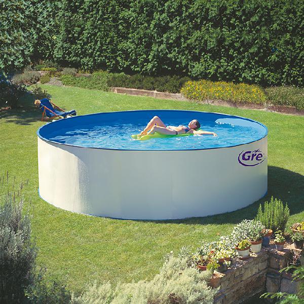 Gre piscina circular desmontable splasher filtro colgante
