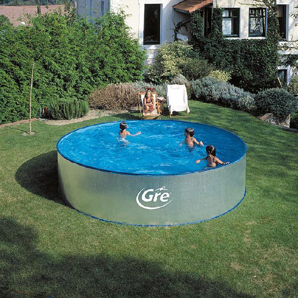 Gre piscina circular desmontable tenerife