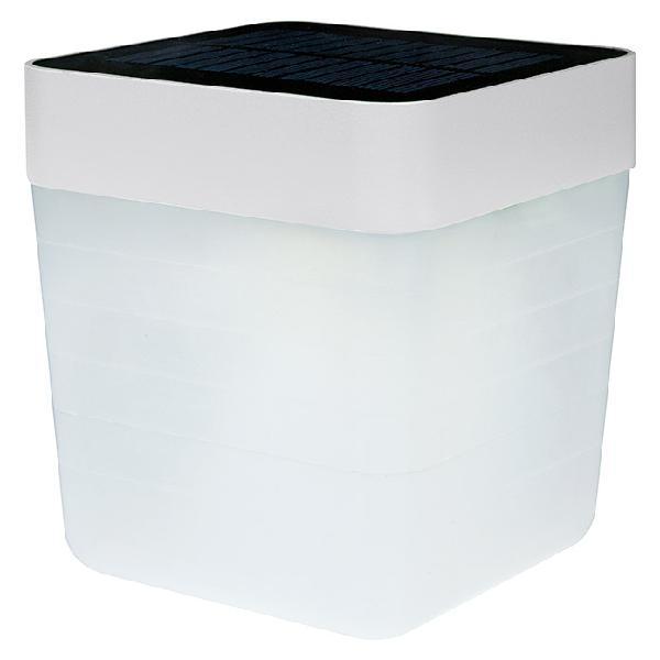 Lutec lámpara de sobremesa led table cube
