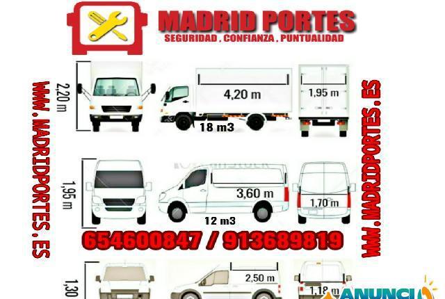 MUDANZAS URGENTES EN MORATALAZ - Madrid