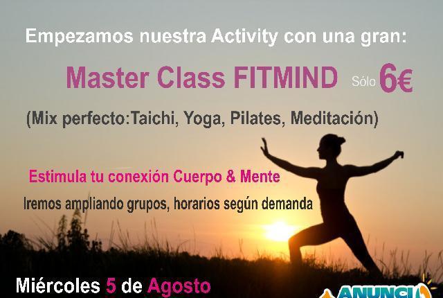 Master Class FitMind a 6€ en Fuengirola - Málaga