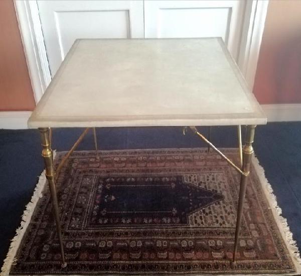 Mesa de juego plegable vintage
