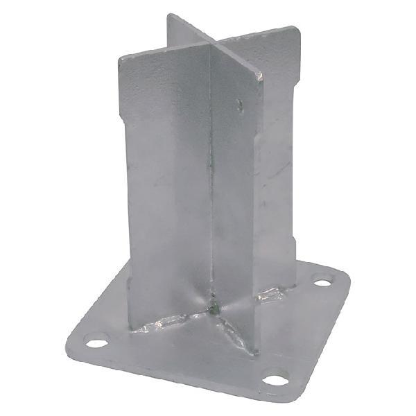 Nortene base para poste basfix floor