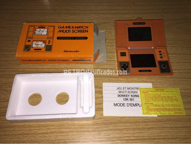 Se vende Game & Watch Nintendo DONKEY KONG