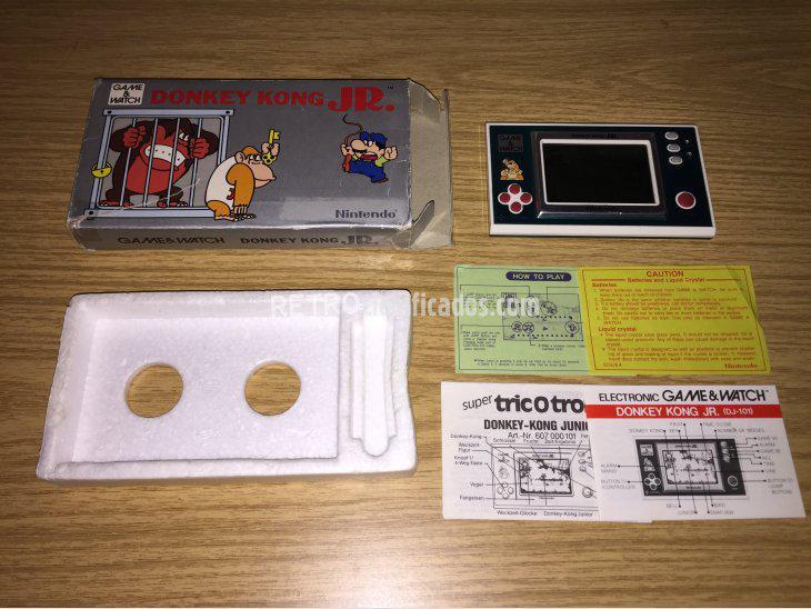 Se vende Game & Watch Nintendo DONKEY KONG JR