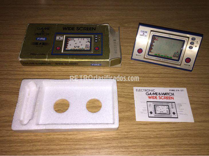 Se vende Game & Watch Nintendo FIRE