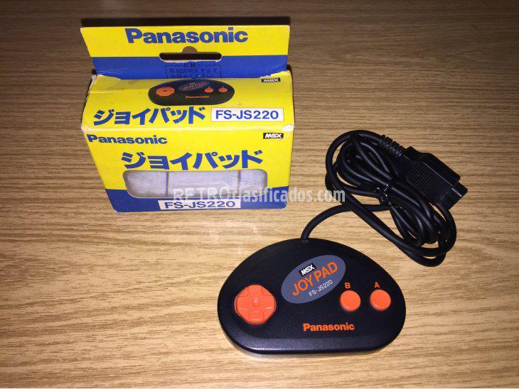 Se vende MSX Panasonic joy pad FS-JS220