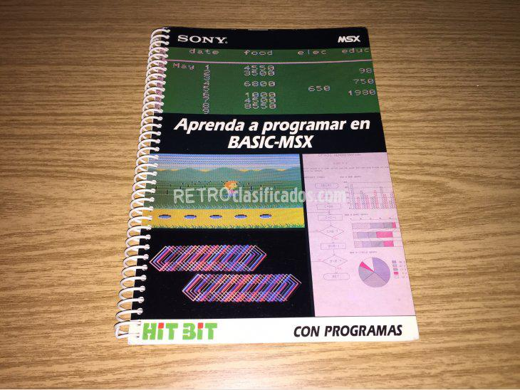 Se vende Manual de programacion BASIC-MSX