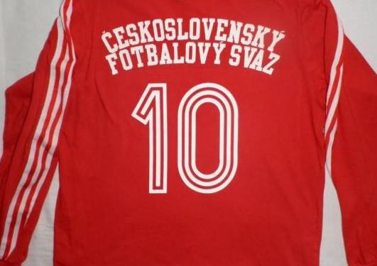 Vintage camiseta checoslovaquia años 70