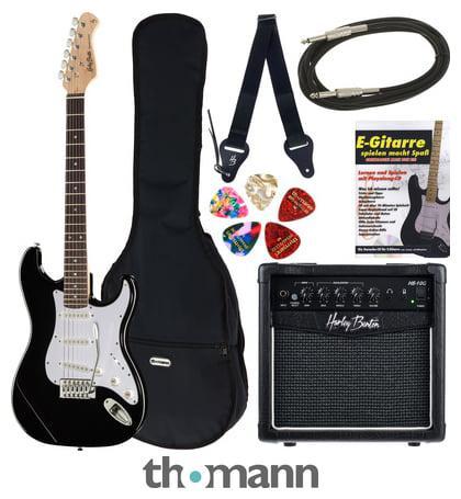 X1f3b8; thomann guitar set g13 black