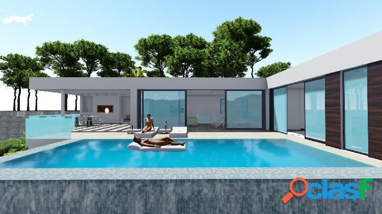 Villa con piscina privada y vi 1