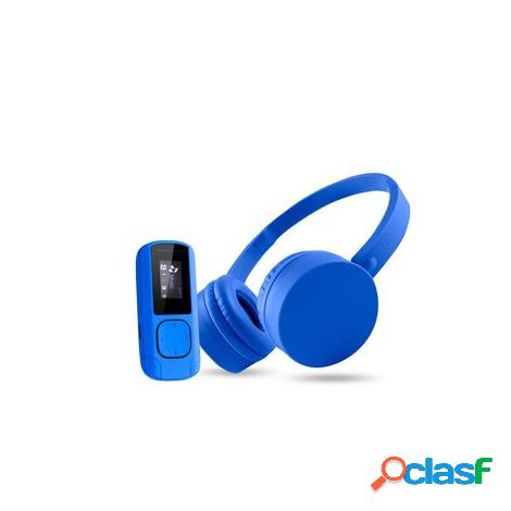 Music pack bluetooth energy reproductor mp3 + auriculares 8gb radio