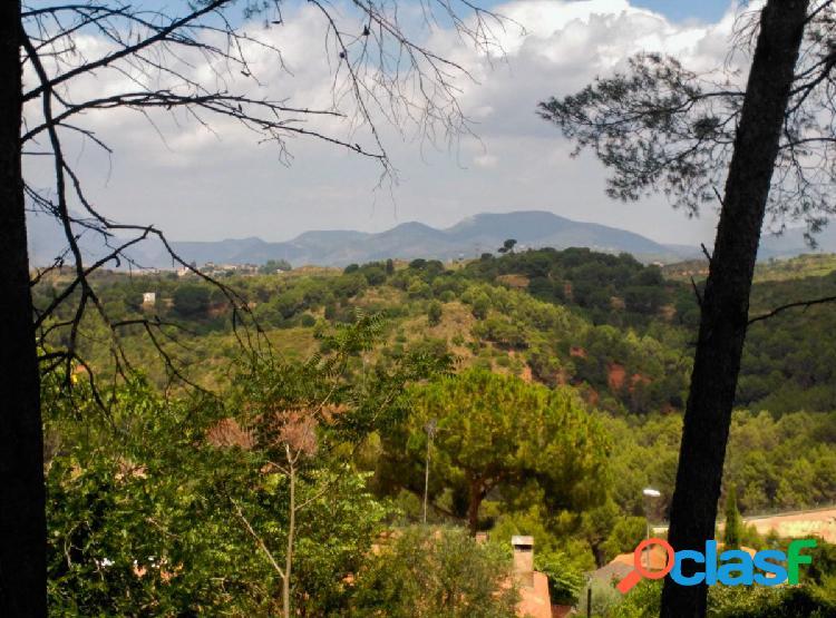 Terreno urbano, con proyecto ejecutivo para construir visado en castellbisbal