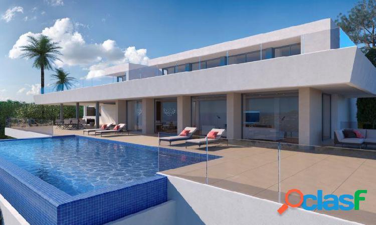 Villa vista al mar con piscina privada en Cumbres del Sol Benitachell 1