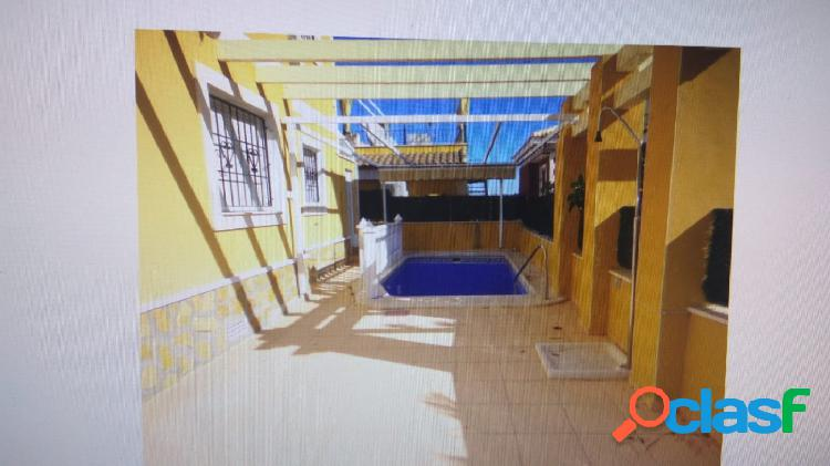 Chalet independiente en bigastro con piscina privada