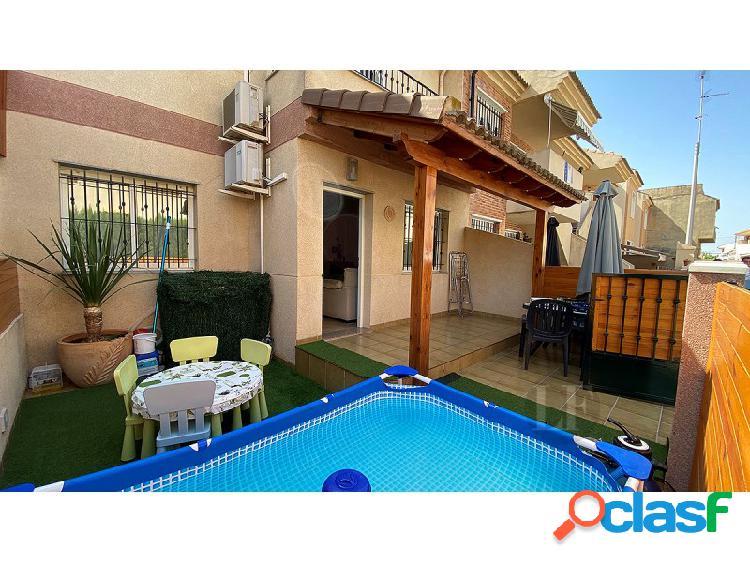 San Pedro Del Pinatar, Casa adosada, 4 camas, 2 baños, totalmente amueblado