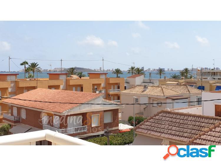 Ático 2 dormitorios con garaje y trastero incluidos cerca de la playa mar de cristal