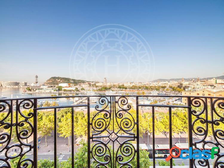 Espectaculares vistas al puerto